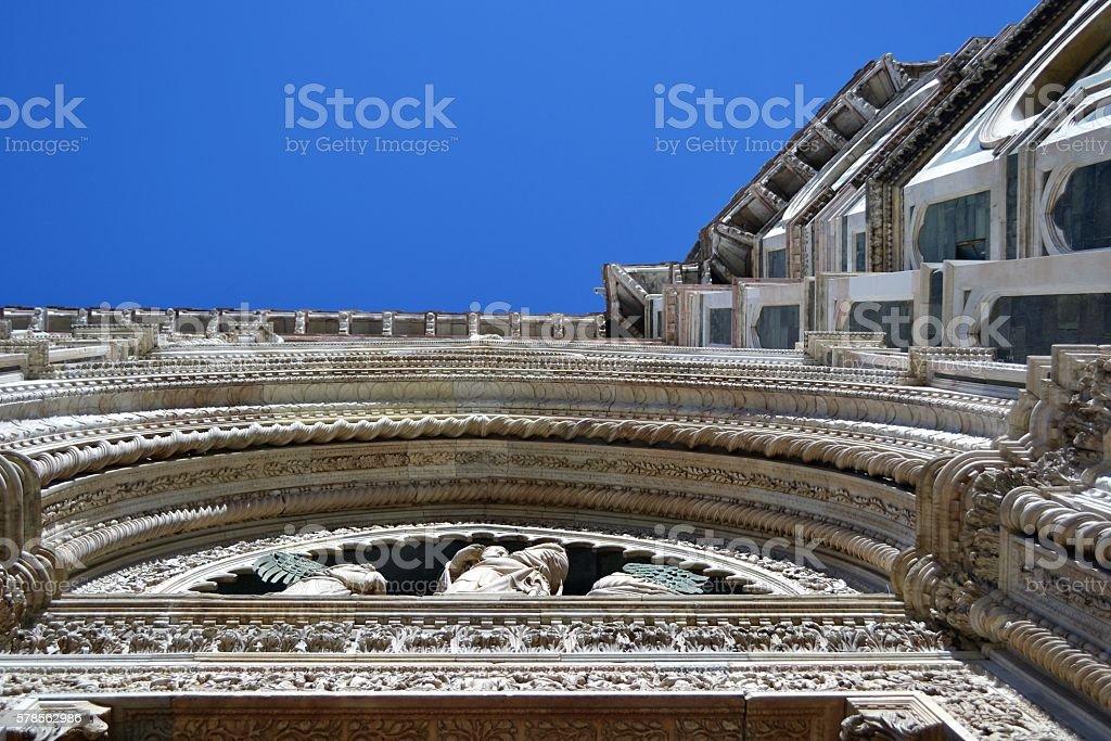 Firenze, dettaglio architettonico stock photo