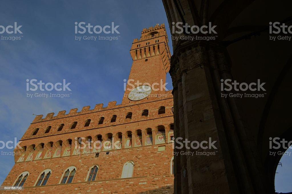 Firenze, Italy. Piazza della Signoria stock photo