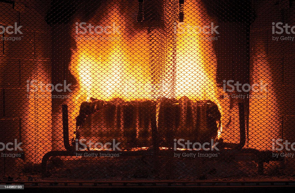 Fireplace 01 stock photo