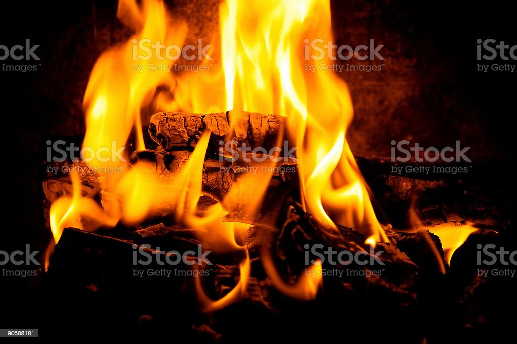 FirePlace 1 royalty-free stock photo