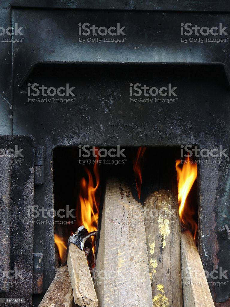 fireplaces royalty-free stock photo