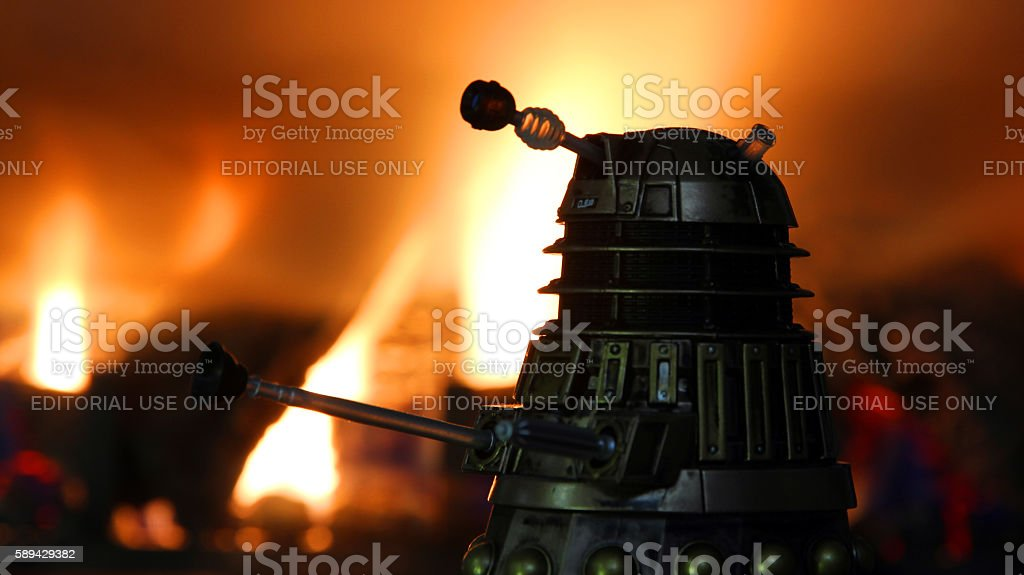 Fires of Extermination stock photo