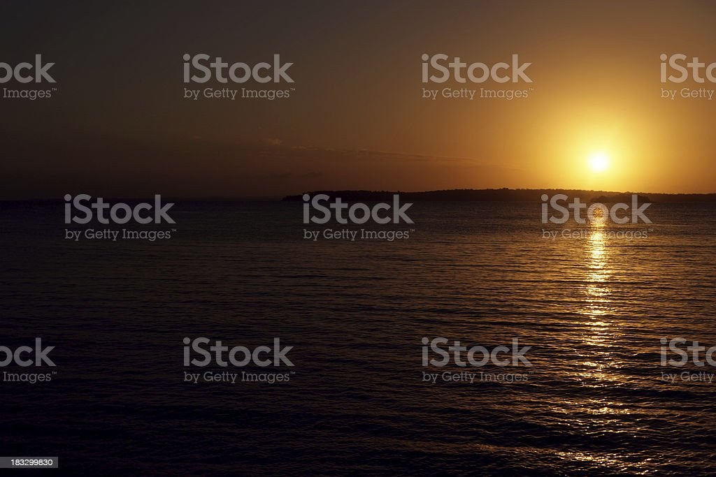Fires of Morning royalty-free stock photo