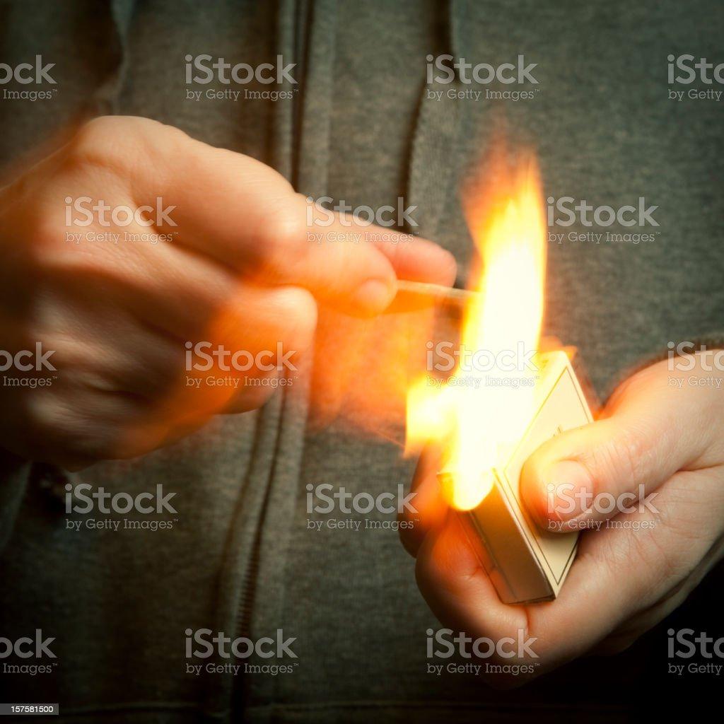firestarter stock photo