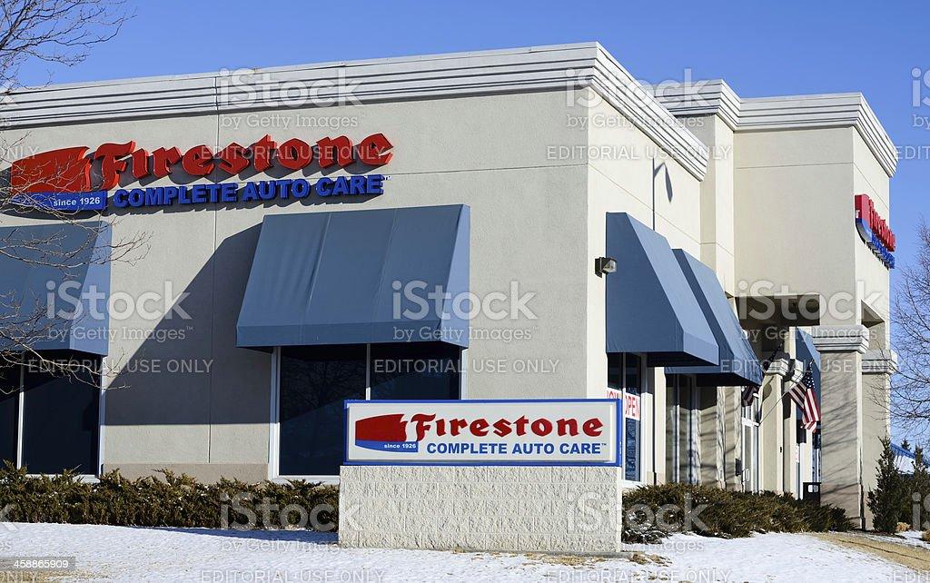 Firestone royalty-free stock photo