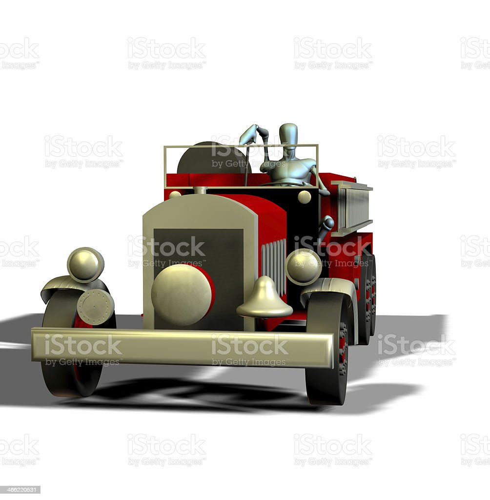 firetruck royalty-free stock photo
