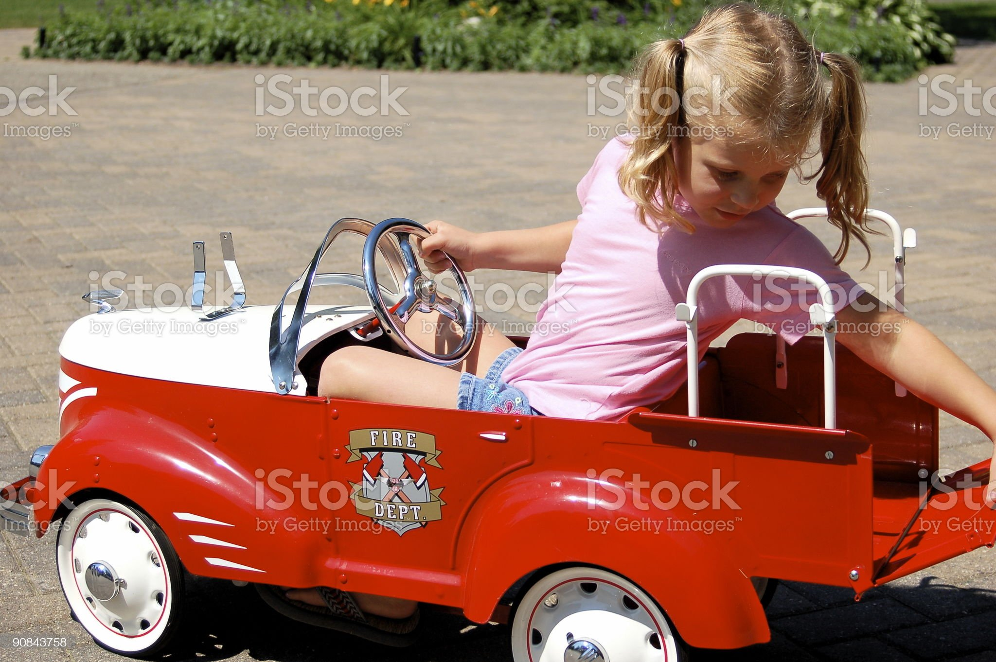 Firetruck royalty-free stock photo
