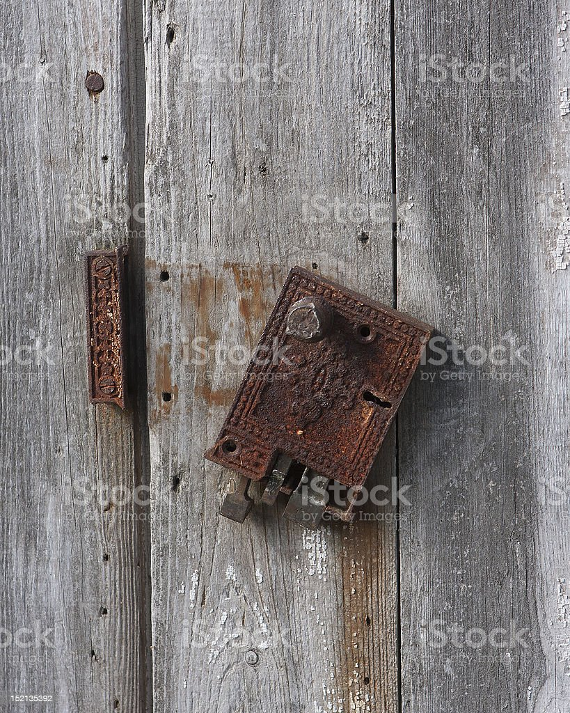 Firewall is breached stock photo