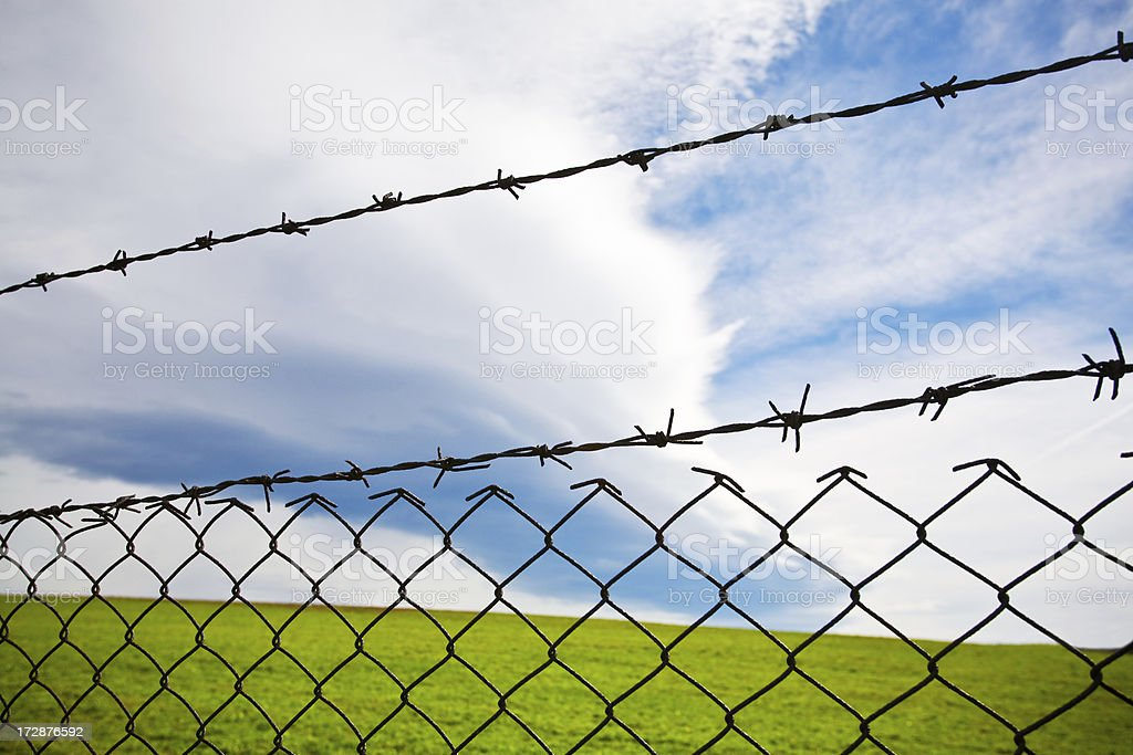 Firewall royalty-free stock photo