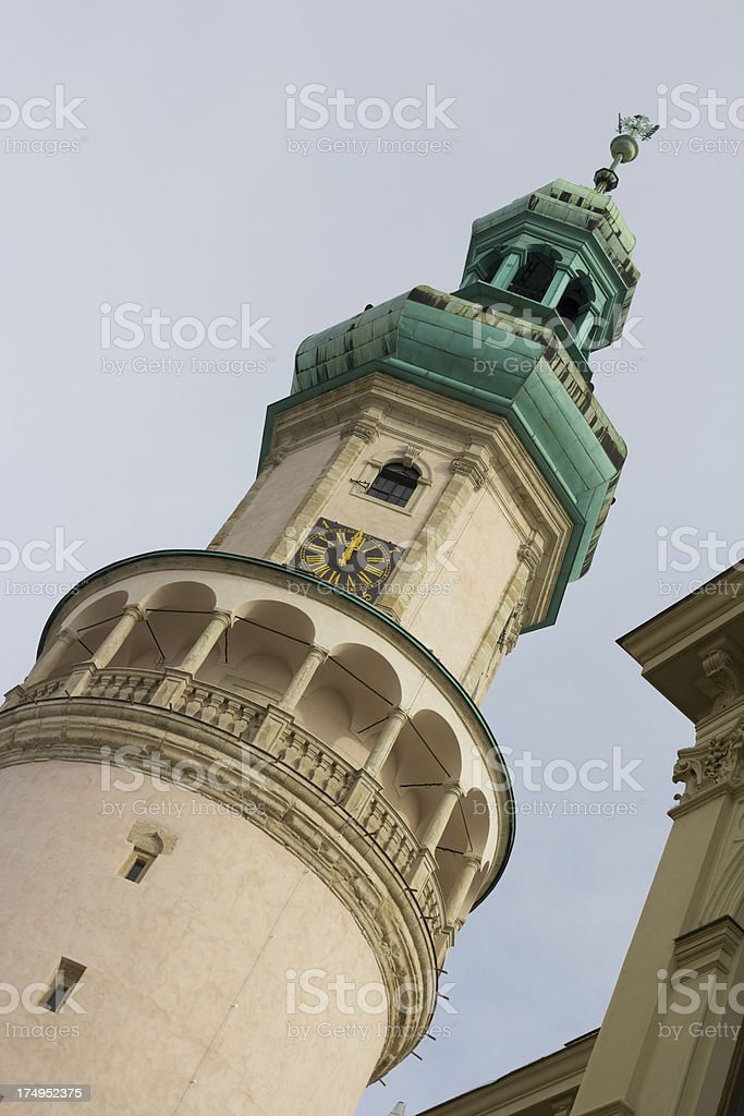 Firewatch Tower, Sopron royalty-free stock photo