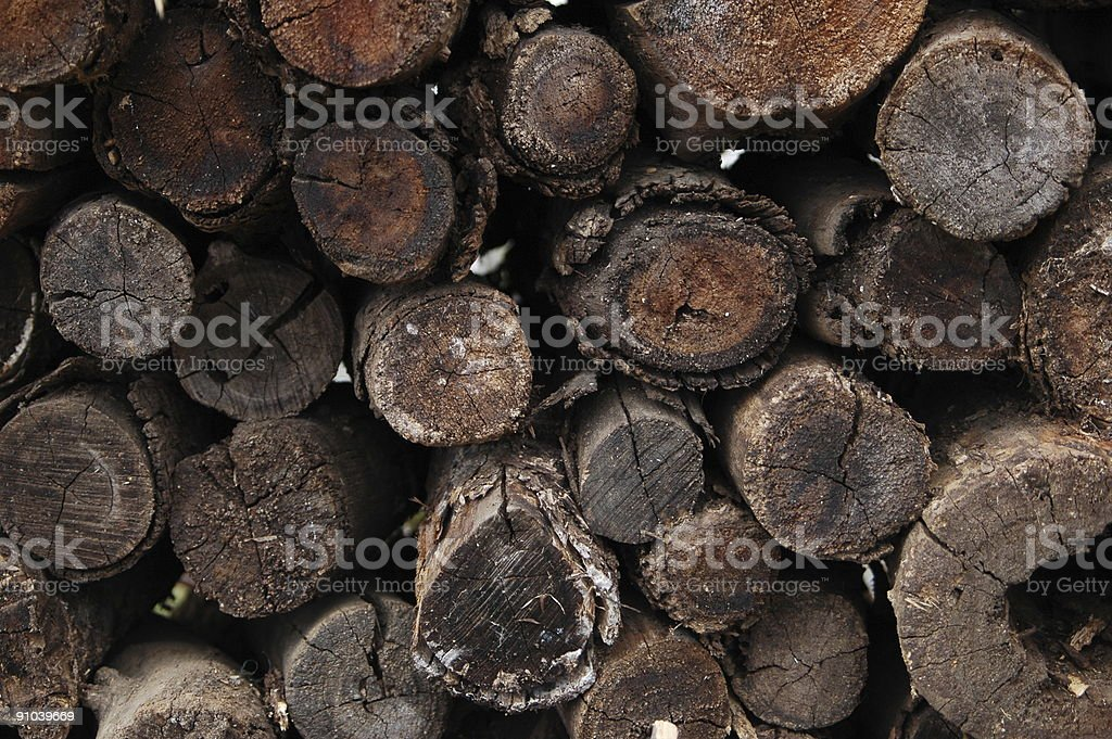Firewood Background royalty-free stock photo