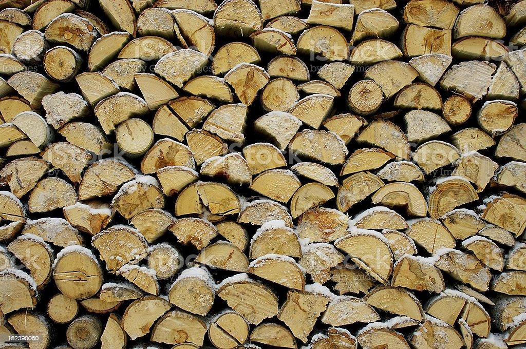 Firewood royalty-free stock photo