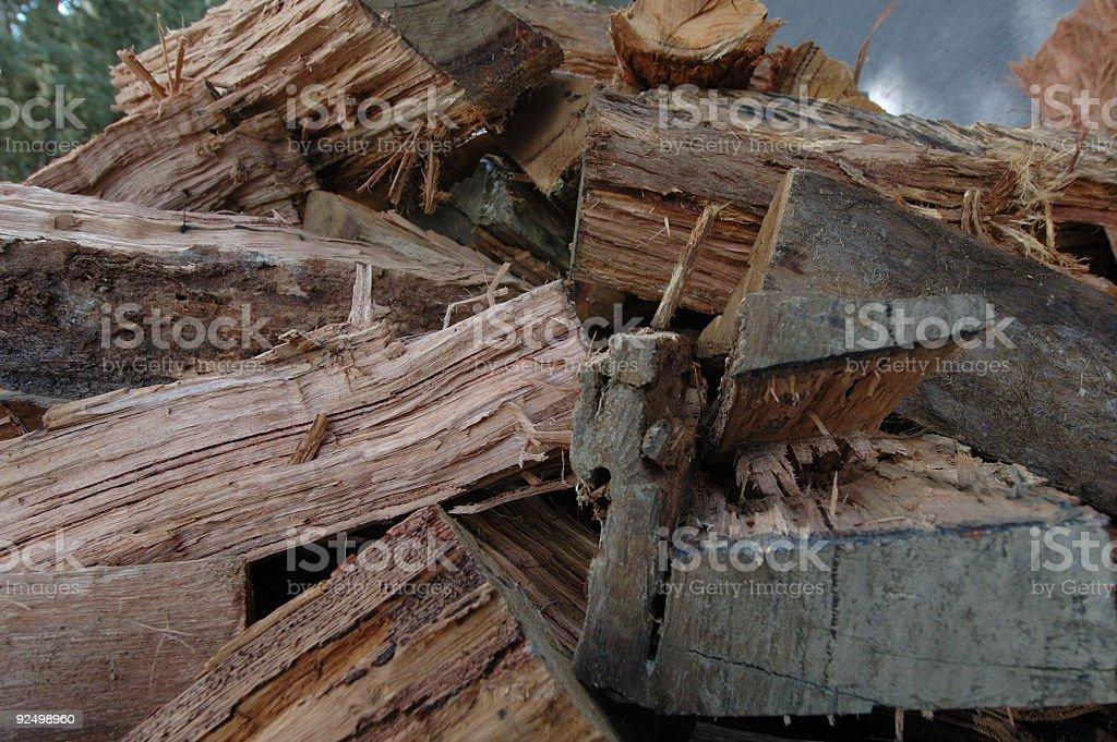 Firewood #2 royalty-free stock photo