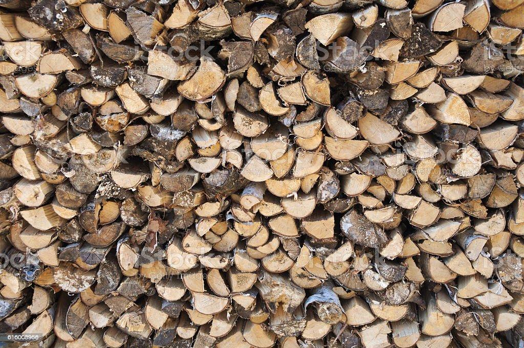 Firewood. Wood Stock image stock photo