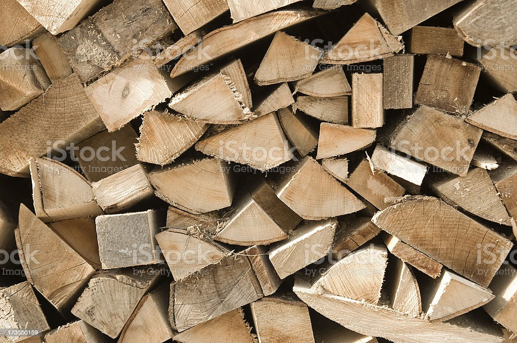 Firewoods royalty-free stock photo