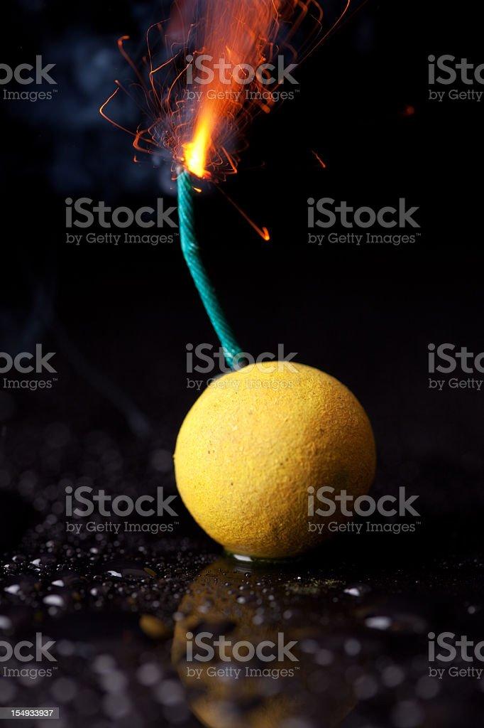 Firework Bomb stock photo