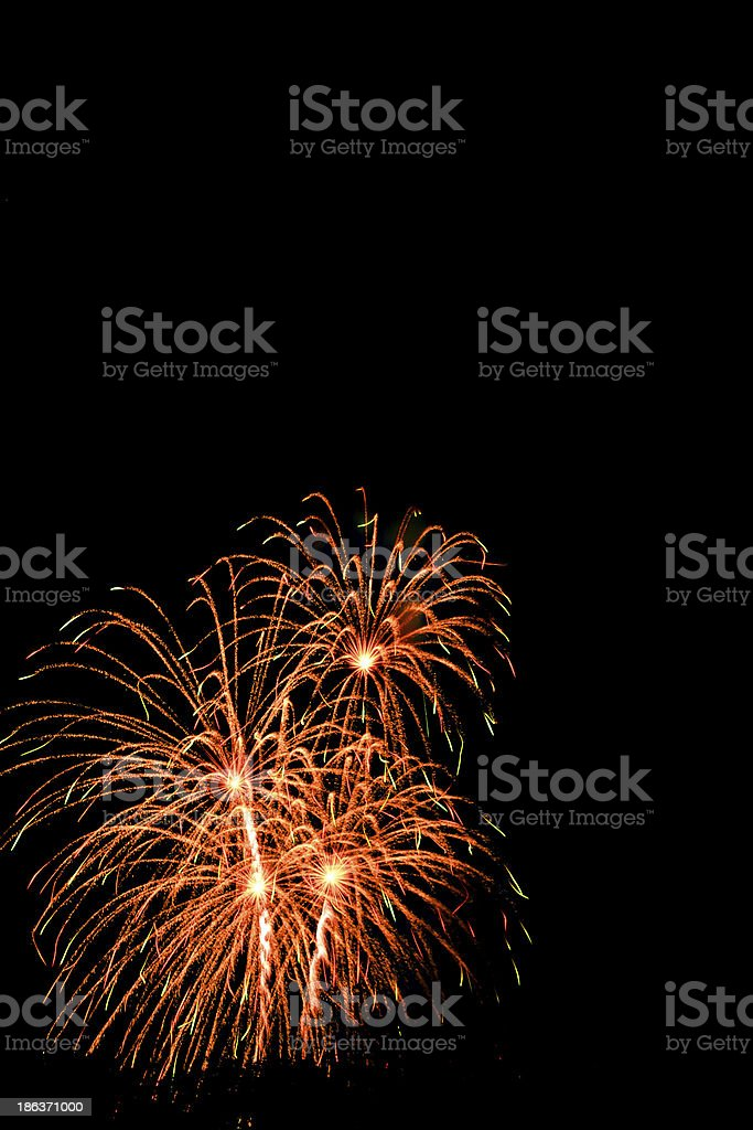 Firework Celebration. royalty-free stock photo
