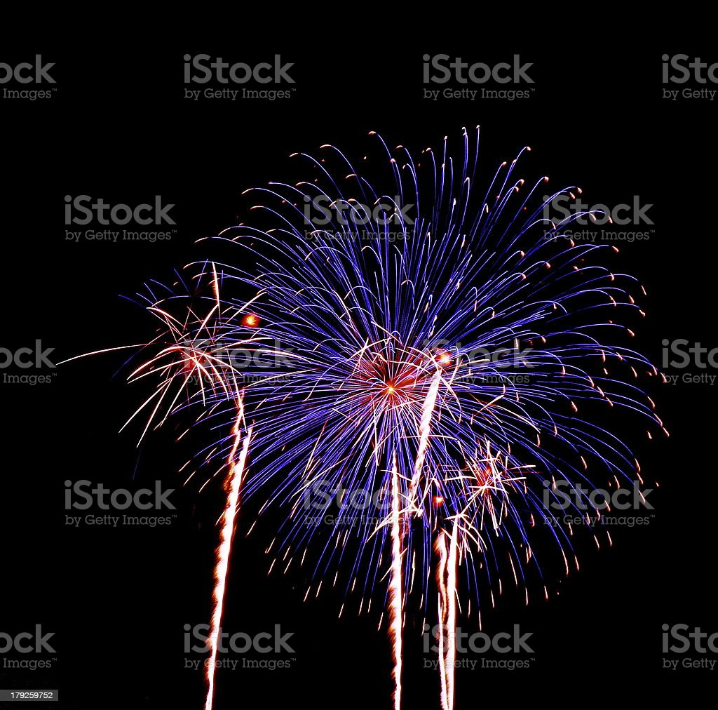 Firework Display royalty-free stock photo