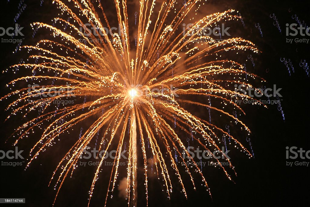 BOOM! Firework Display royalty-free stock photo