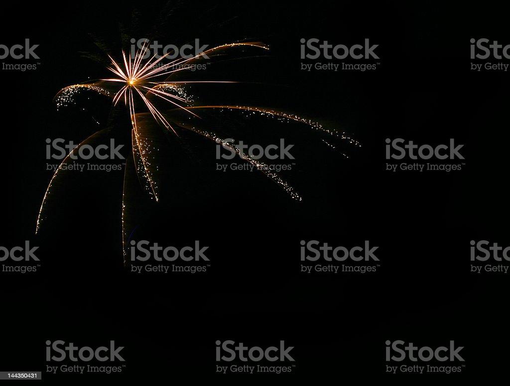 Firework explosion royalty-free stock photo