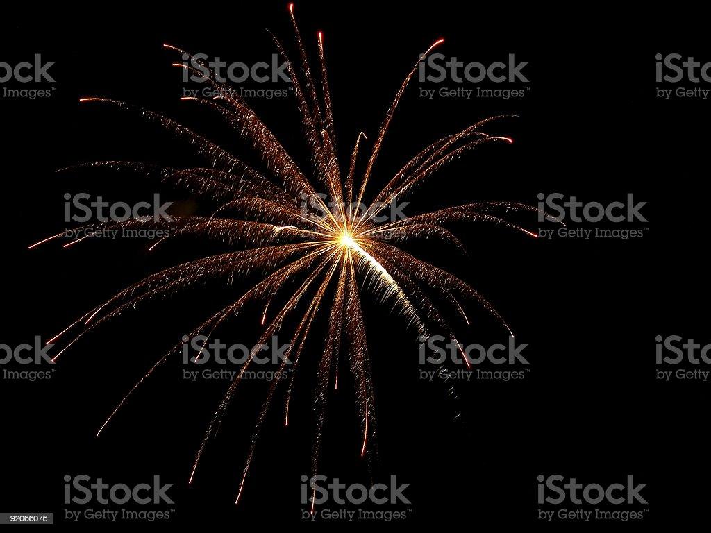 FireWork Explosion stock photo