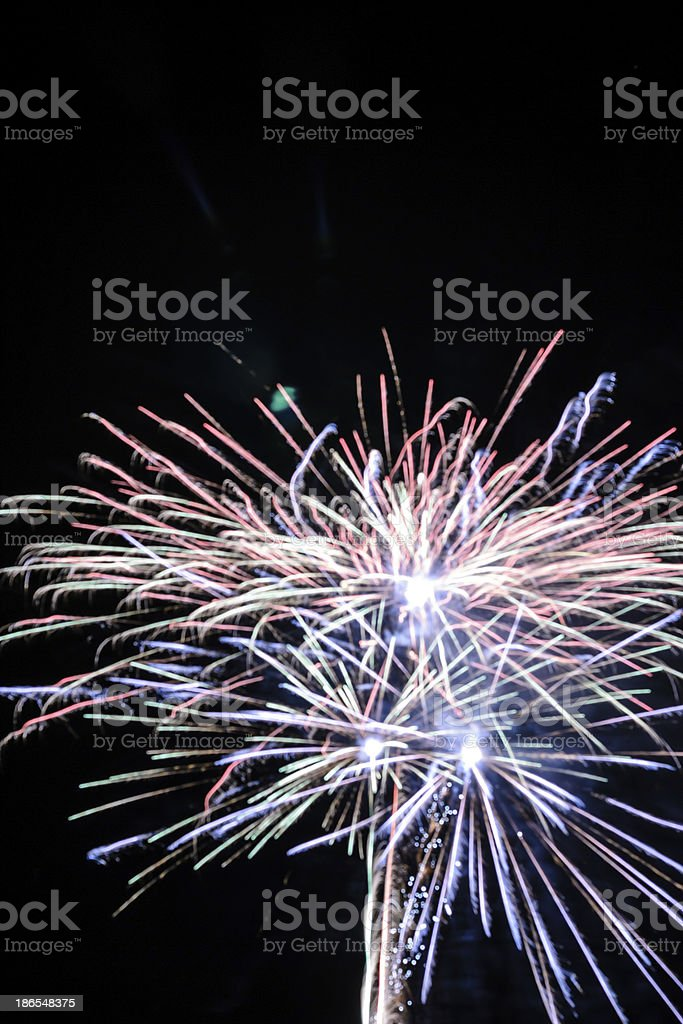 Firework royalty-free stock photo