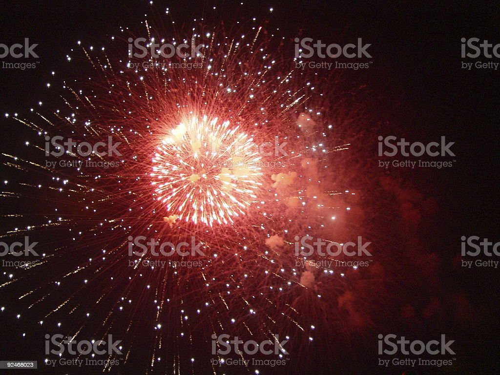 firework1 royalty-free stock photo