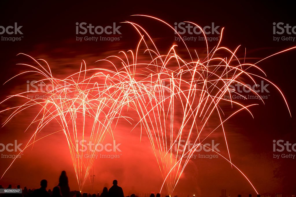 Fireworks 002 royalty-free stock photo