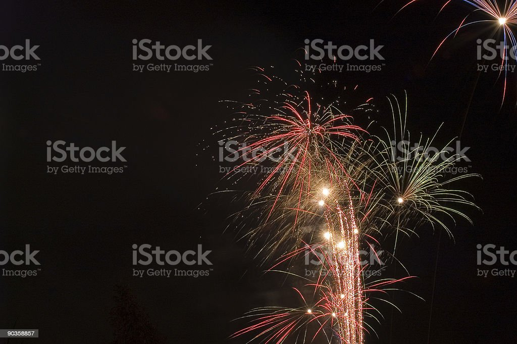 Fireworks 005 royalty-free stock photo