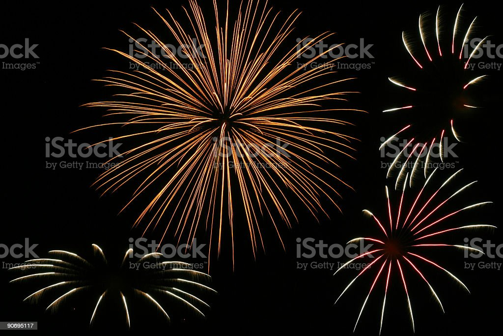 Fireworks 06 royalty-free stock photo