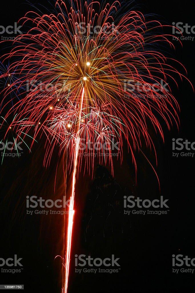 Fireworks 09 royalty-free stock photo