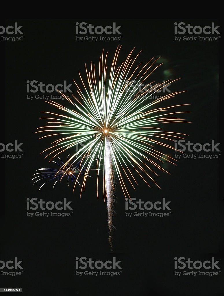 Fireworks 1 royalty-free stock photo