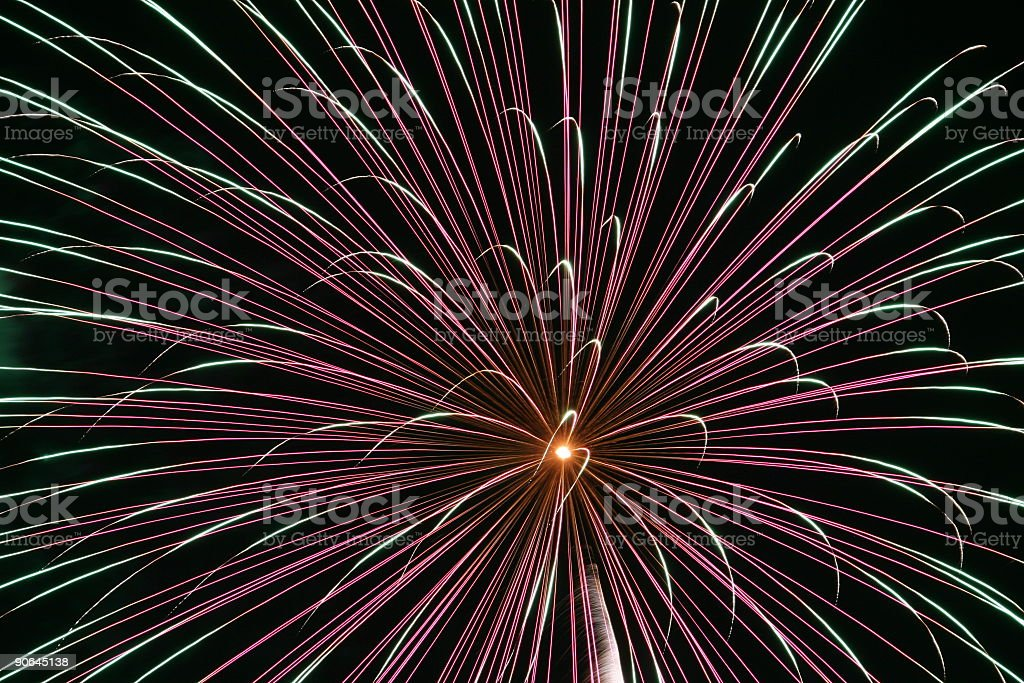 Fireworks 11 royalty-free stock photo