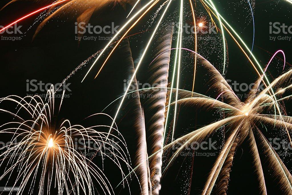 Fireworks 15 royalty-free stock photo