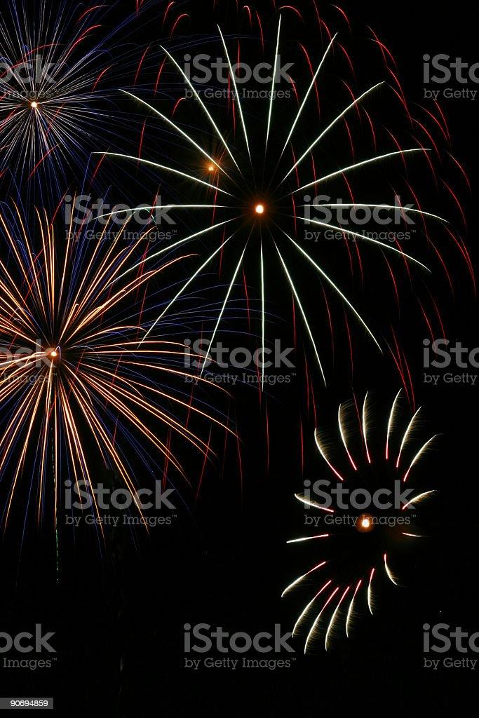 Fireworks 16 royalty-free stock photo