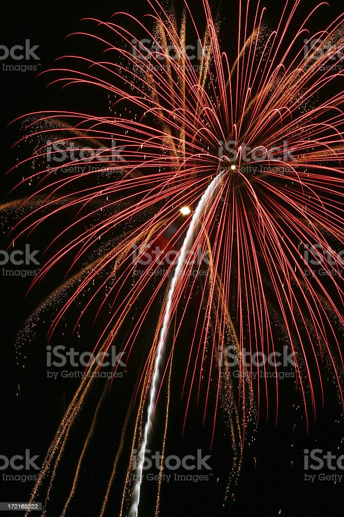 Fireworks 17 stock photo