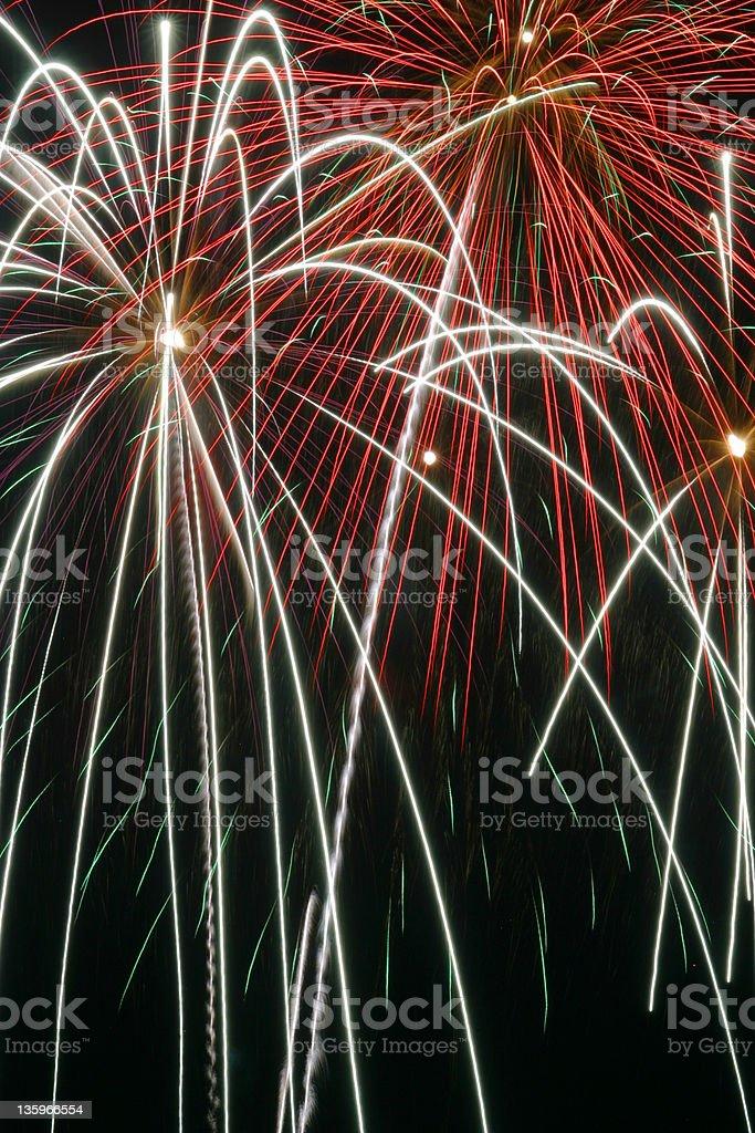 Fireworks 18 royalty-free stock photo