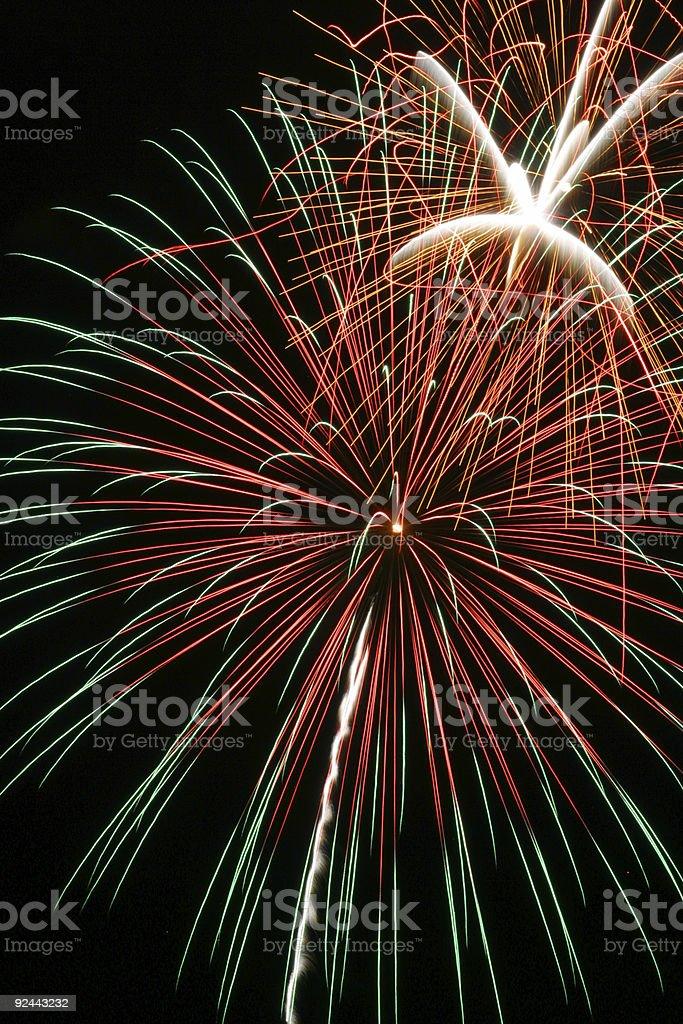 Fireworks 19 royalty-free stock photo