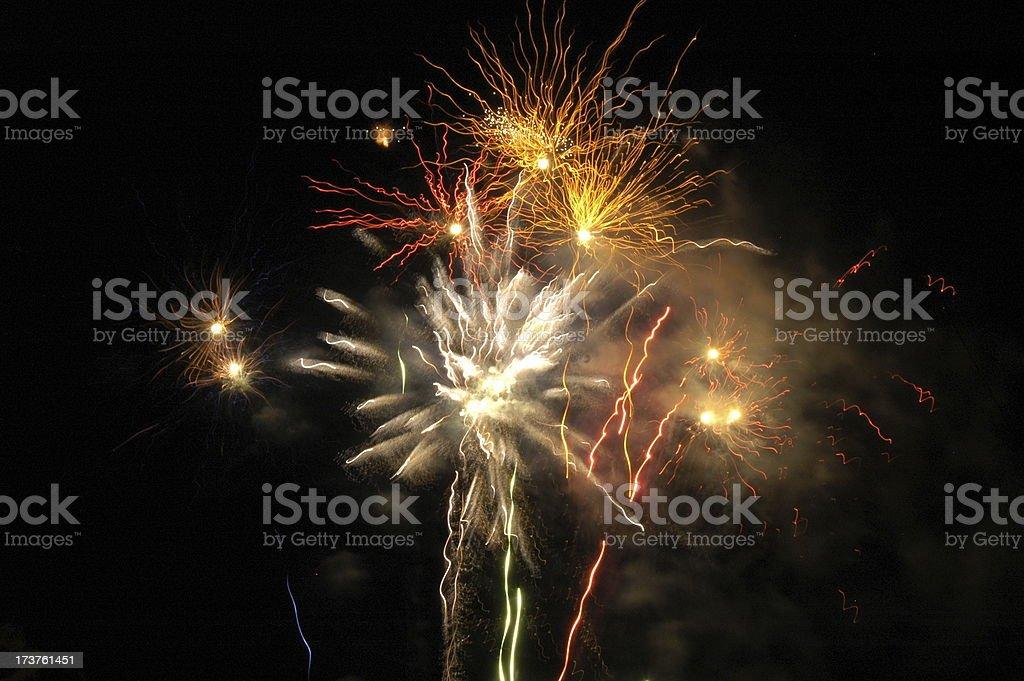 fireworks 2 royalty-free stock photo