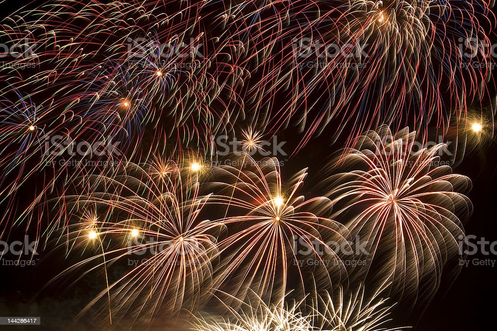 Fireworks 2007 Number 10 royalty-free stock photo