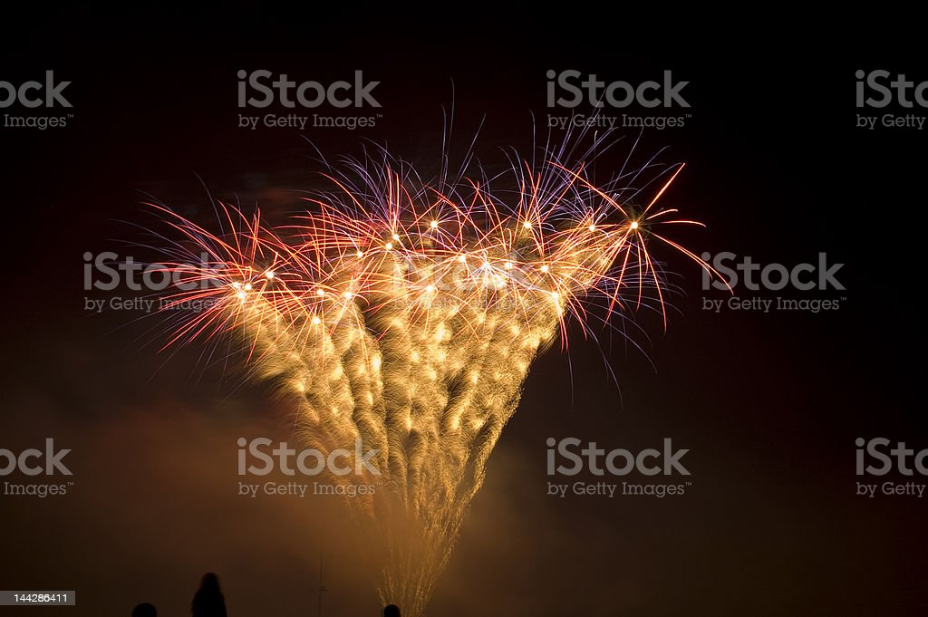 Fireworks 2007 number 5 royalty-free stock photo