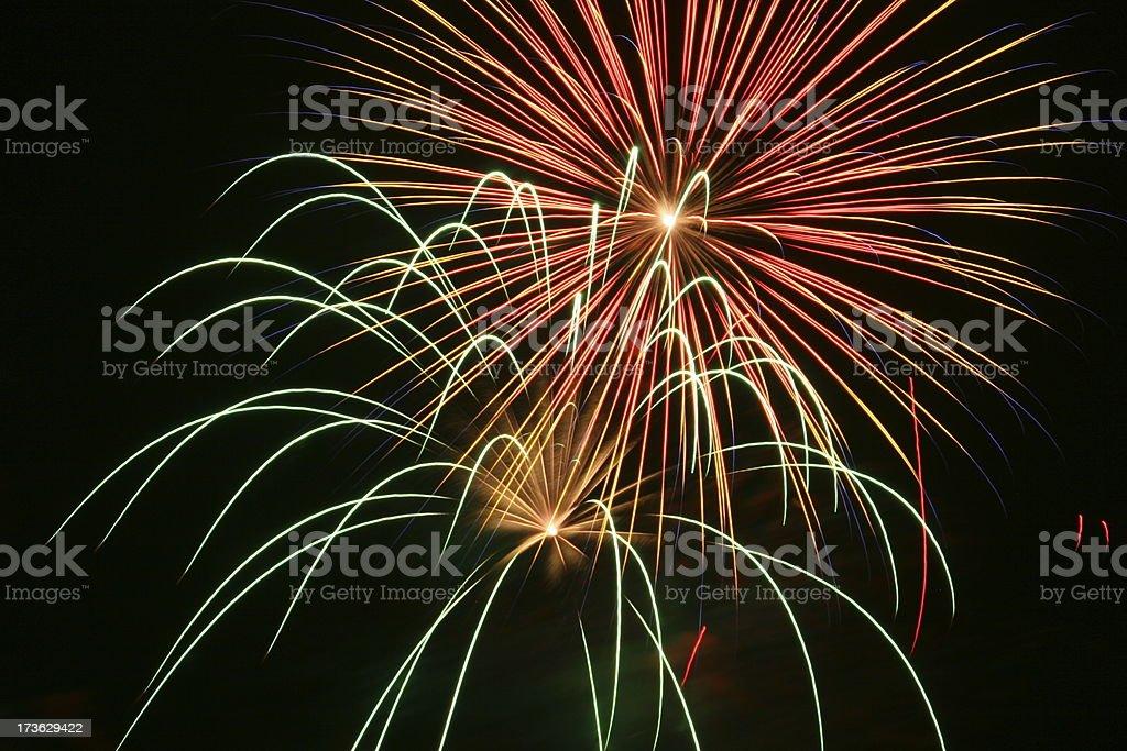 Fireworks 24 stock photo