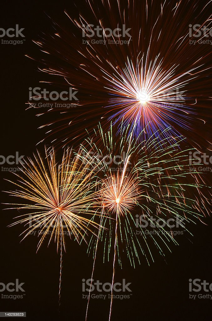 Fireworks 3.2 royalty-free stock photo
