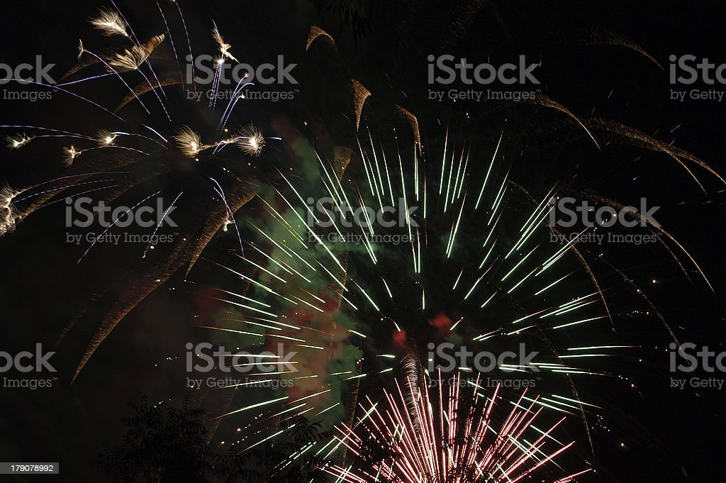 Fireworks 37 royalty-free stock photo