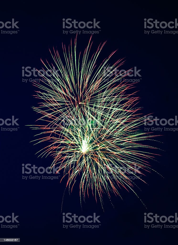 Fireworks 4 royalty-free stock photo