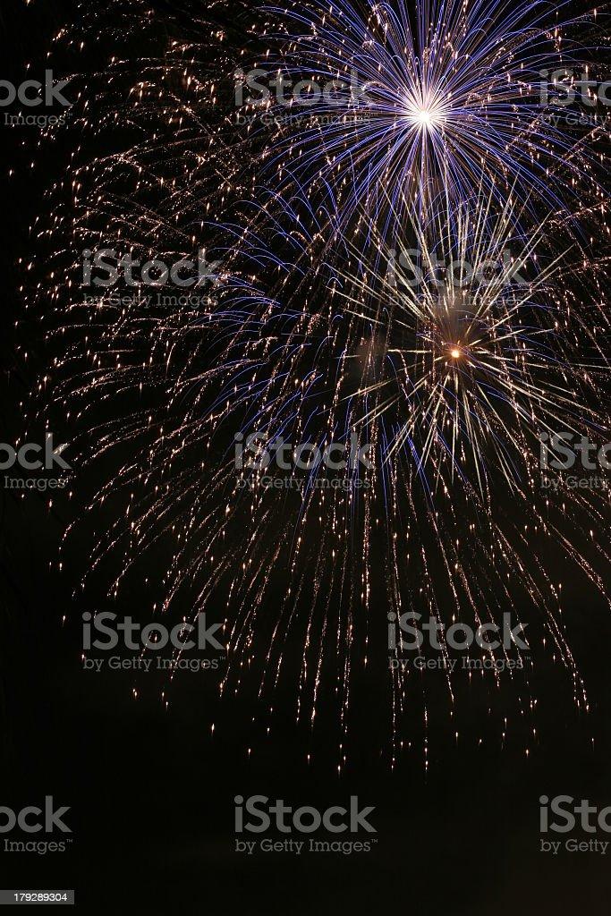 Fireworks 4 stock photo
