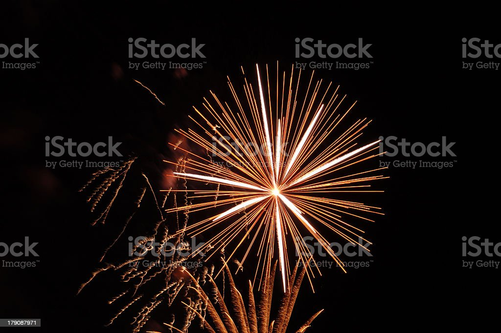 Fireworks 43 royalty-free stock photo