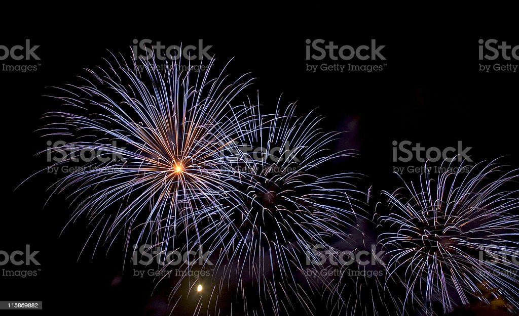 Fireworks 5 royalty-free stock photo