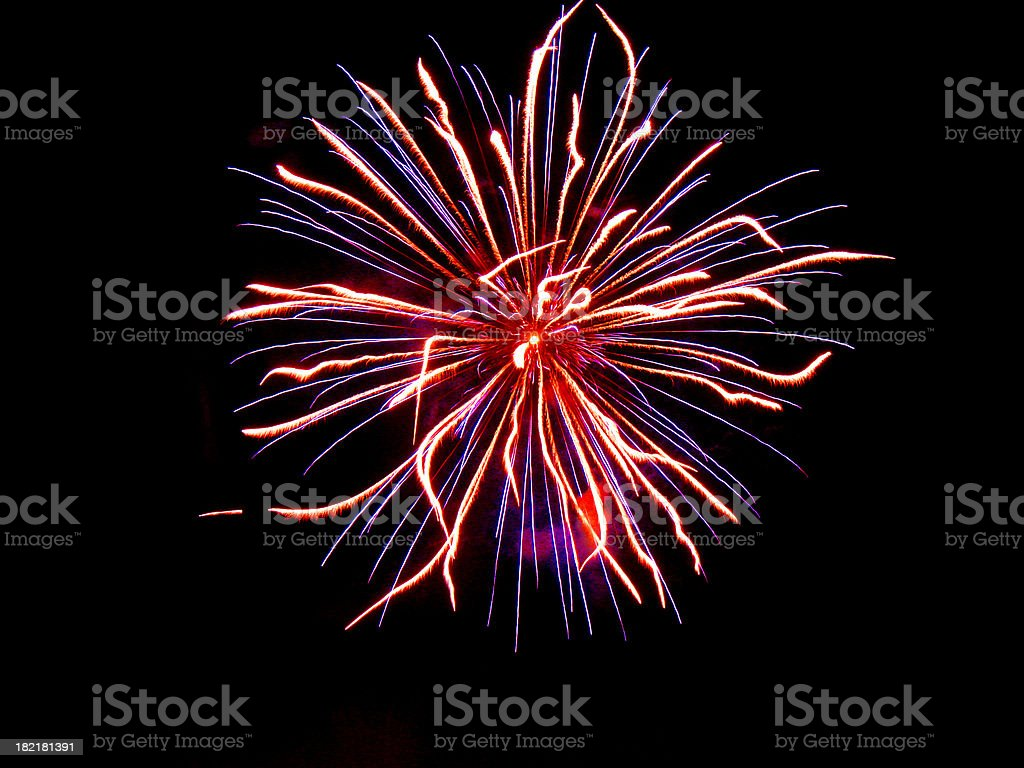 fireworks [5] royalty-free stock photo