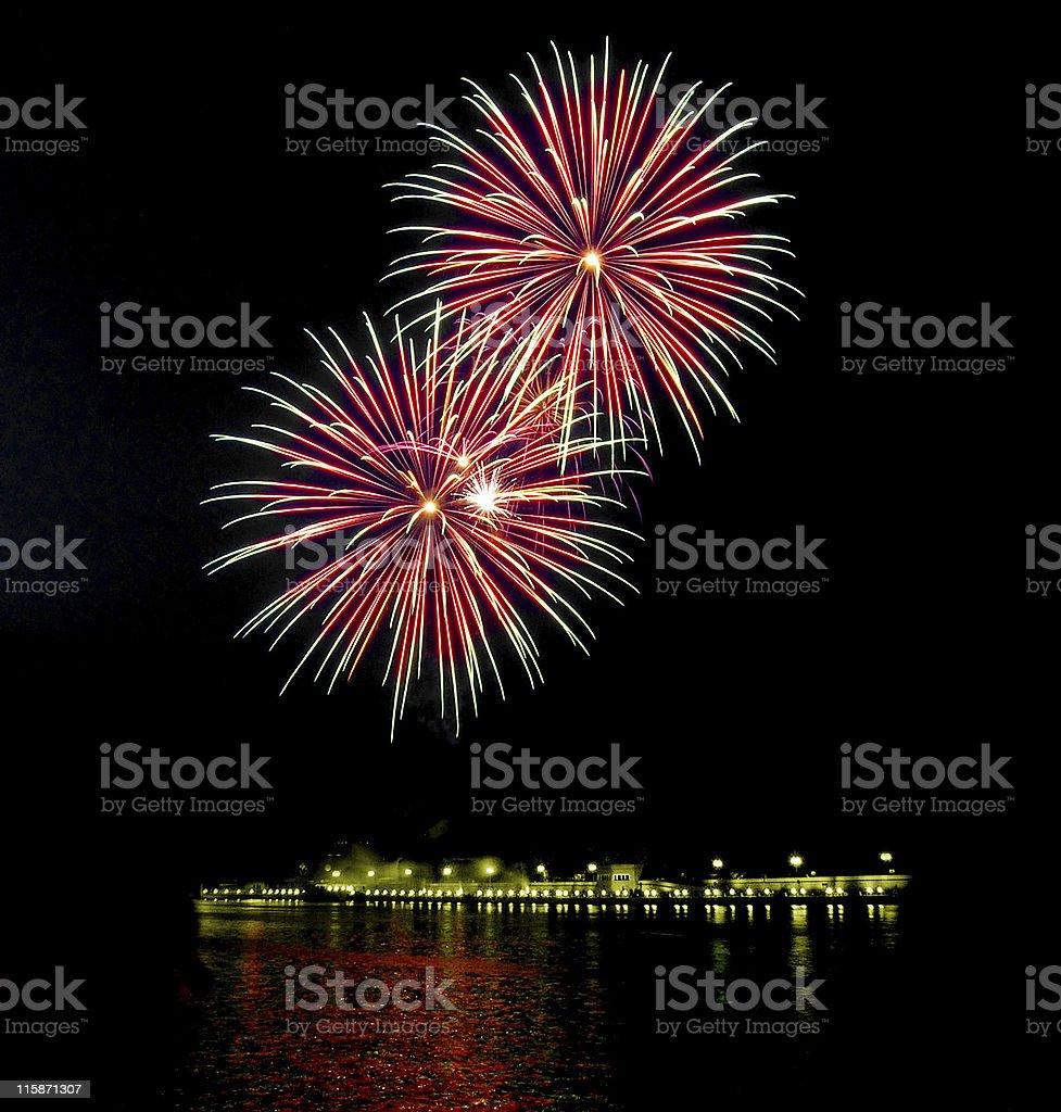Fireworks [6] royalty-free stock photo